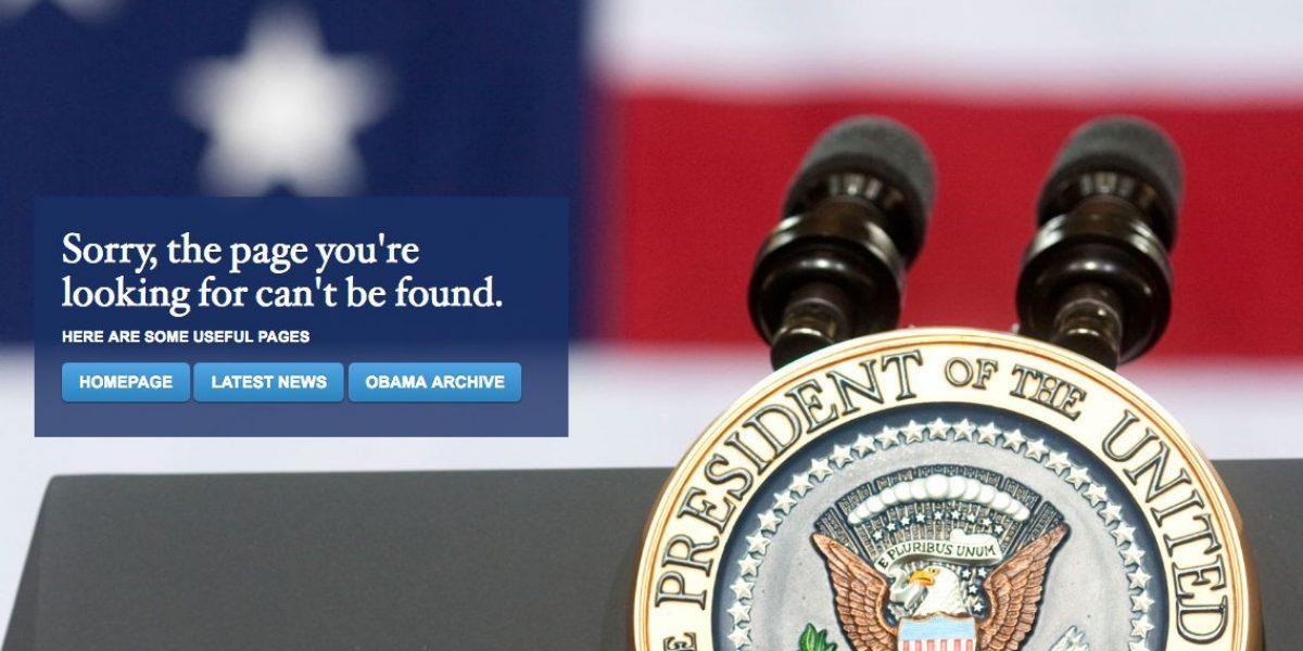 Trump suprime versión en español de página web de la Casa Blanca