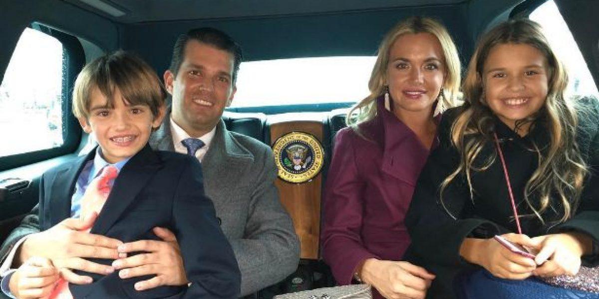 GALERÍA: hijos de Donald Trump presumen en Instagram su estancia en la Casa Blanca