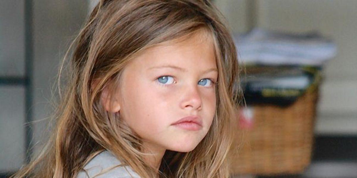 Así luce a sus 15 años la niña más bella del mundo