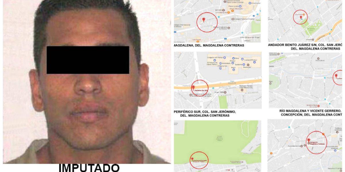 Cae violador serial de la Magdalena Contreras