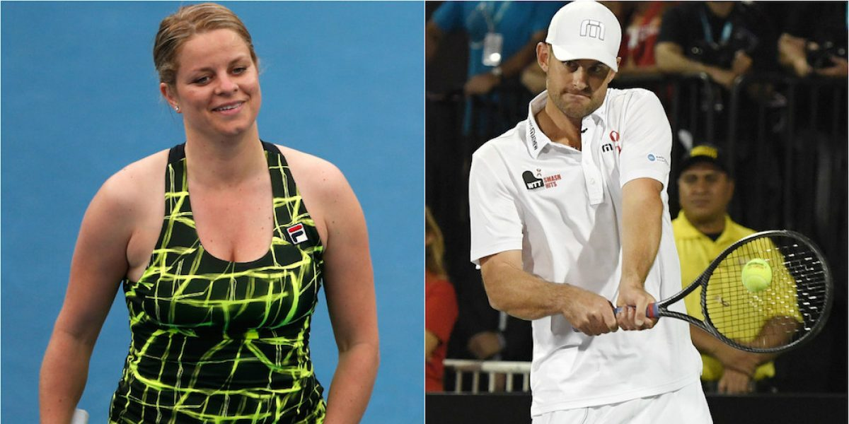 Kim Clijsters y Andy Roddick entrarán al Salón de la Fama del tenis