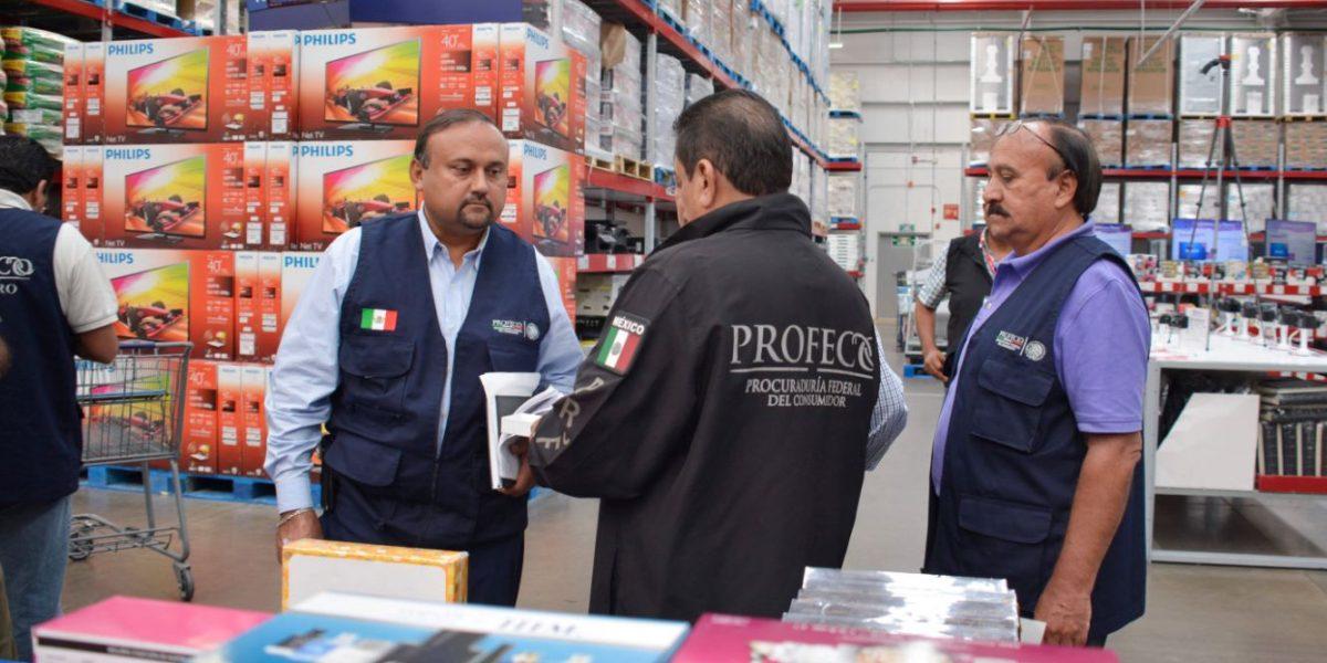 Secretaría del Trabajo y Profeco verifican precios de productos básicos