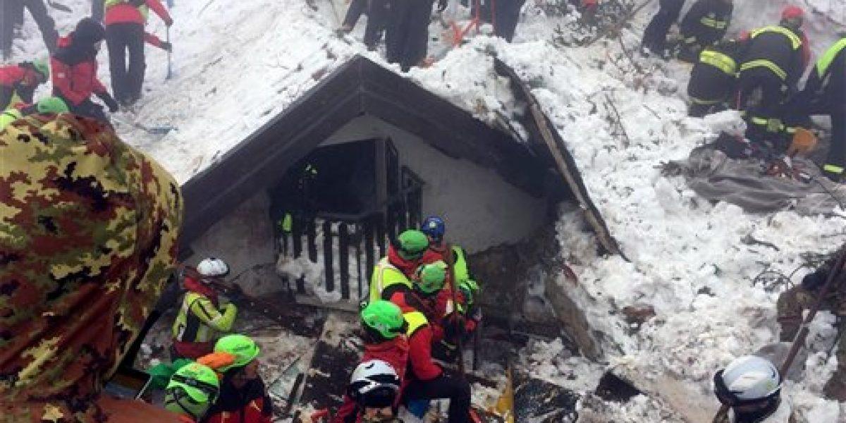 Aumenta a 14 el número de muertos por alud de hielo en hotel de Italia