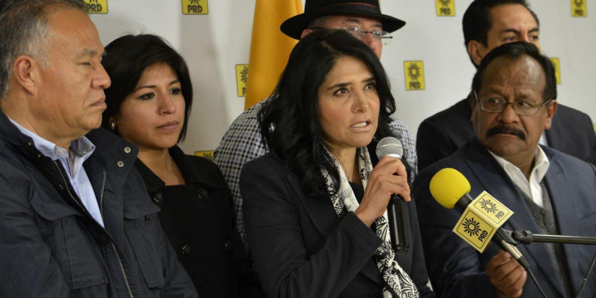 Se caen alianzas del PRD con el PAN en Edomex y Coahuila