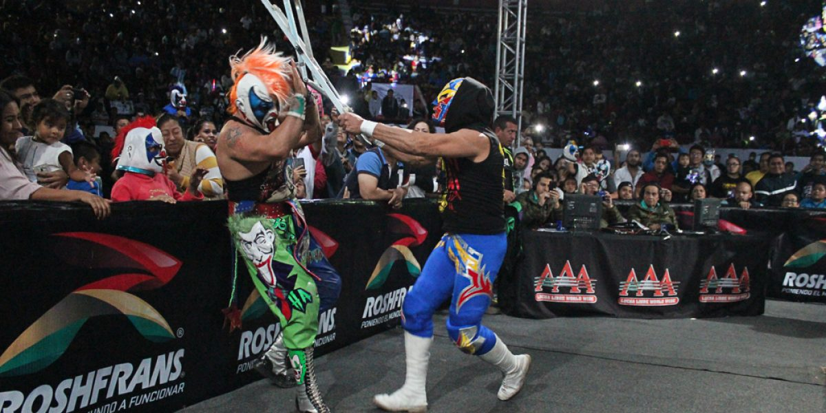 Psycho Clown y Dr. Wagner Jr… ¡máscara vs  máscara en Triplemanía 25!