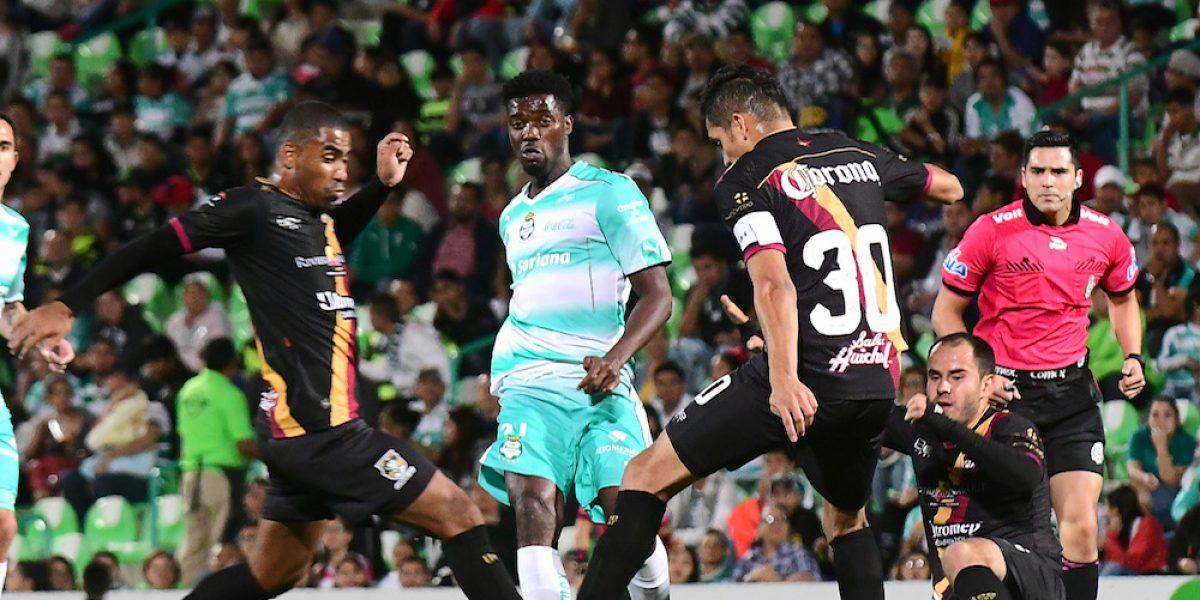 Santos suma su segunda derrota en la Copa Corona MX
