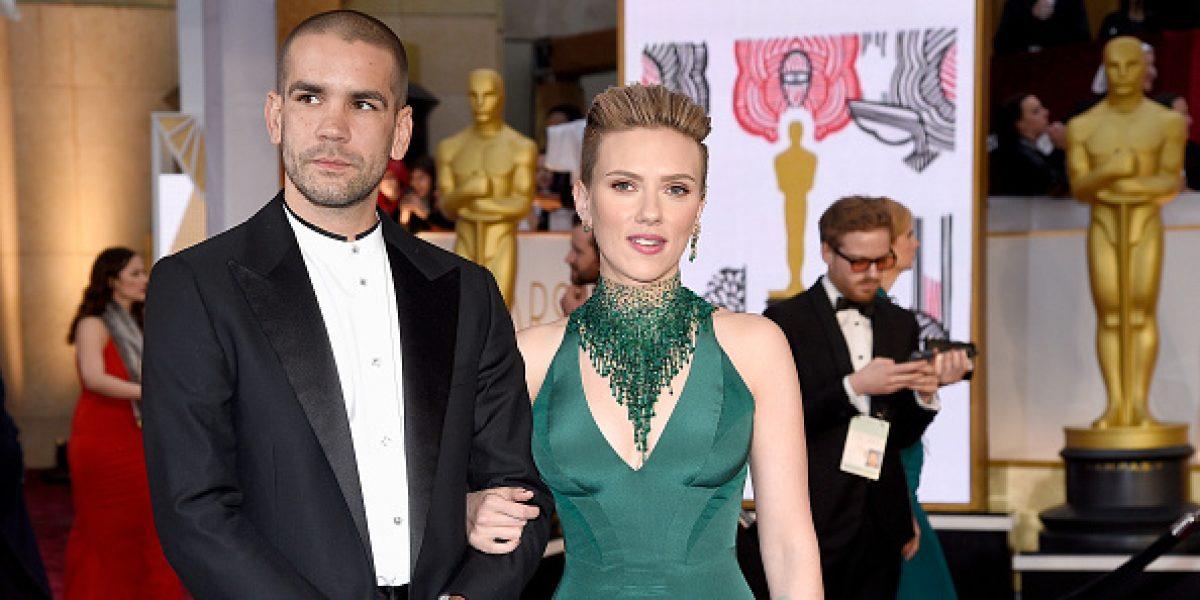 Scarlett Johansson se divorcia tras dos años de matrimonio