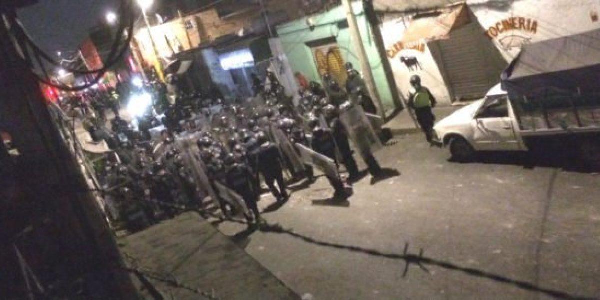 Seis mototaxistas detenidos y 13 policías heridos deja enfrentamiento en Culhuacán
