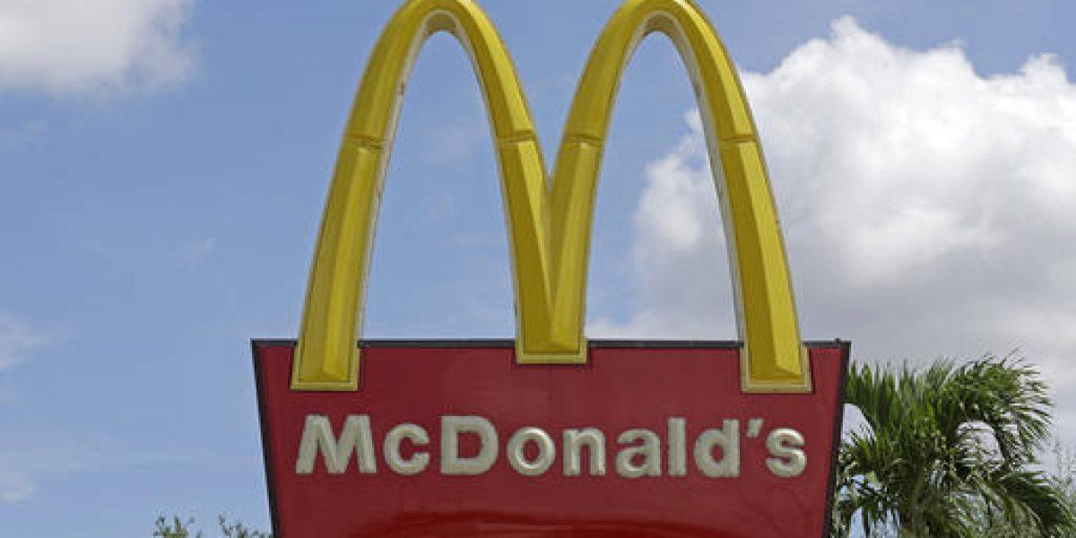 "Pese a campañas contra ""fast food"", McDonald"