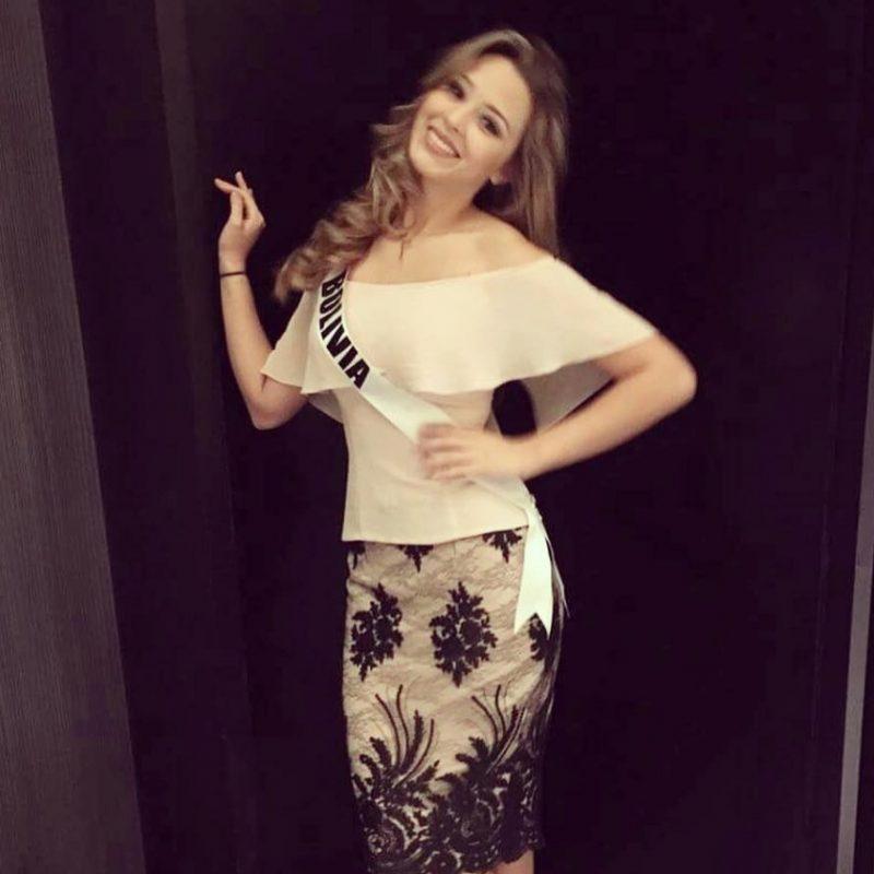 Miss Universo 2016. Imagen Por: Vía instagram.com/missiologobolivia