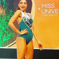 Miss Universo 2016. Imagen Por: Vía instagram.com/andreatov/