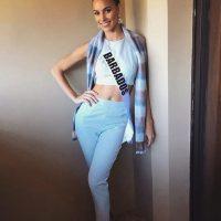 Miss Universo 2016. Imagen Por: Vía instagram.com/shanmharris/