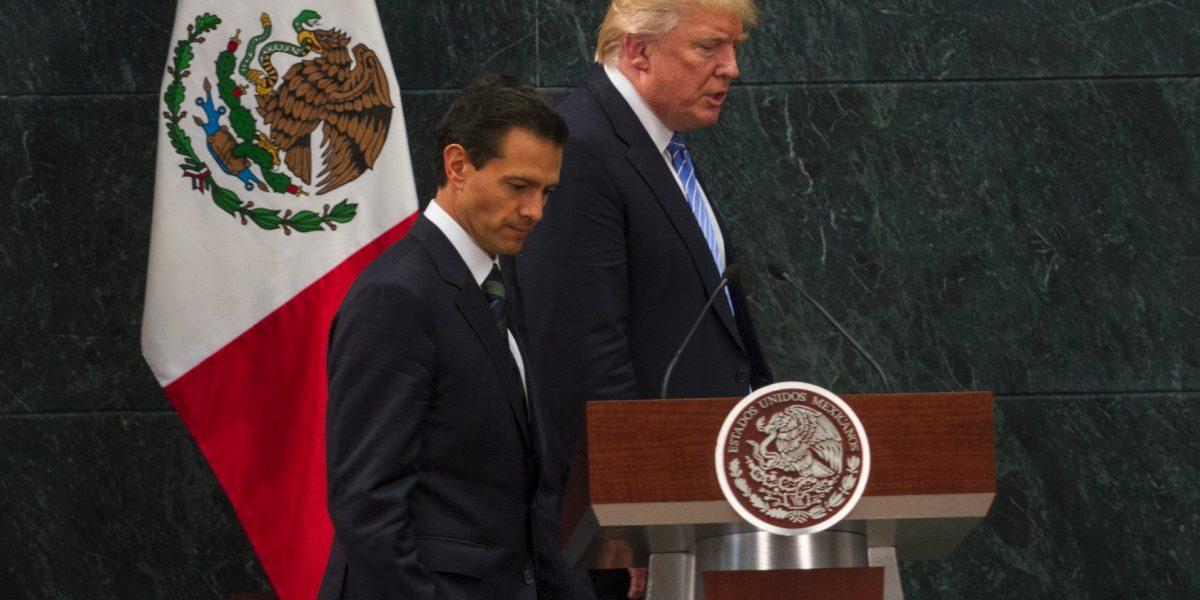 Políticos mexicanos piden a Peña Nieto cancelar reunión con Trump