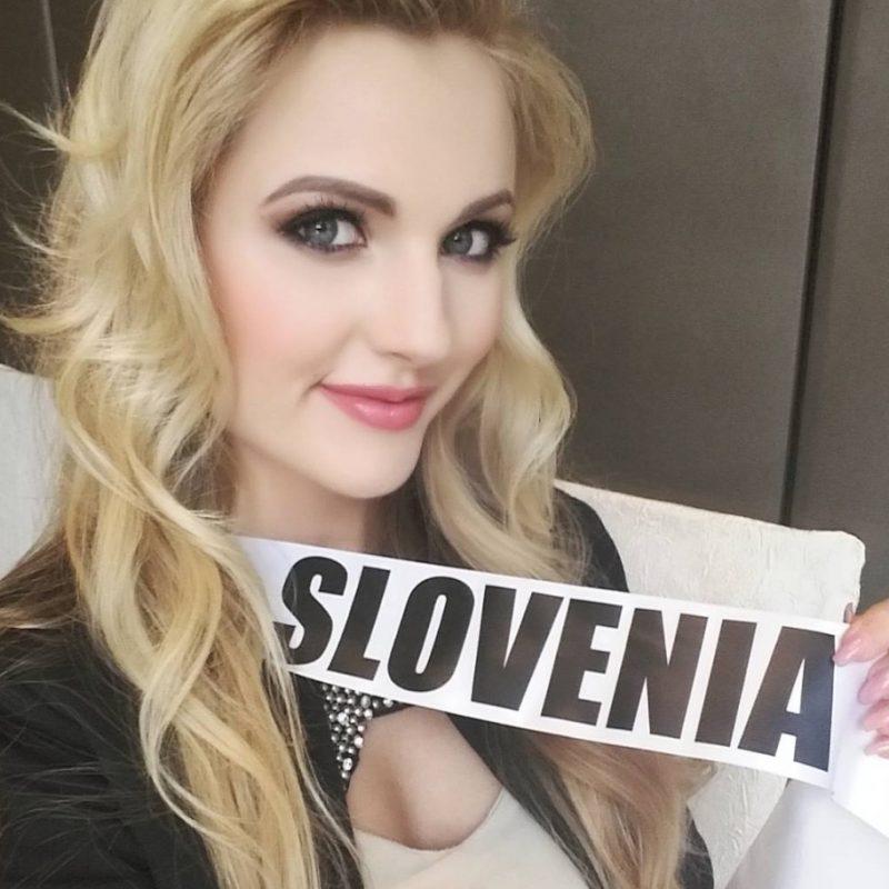 Miss Universo 2016. Imagen Por: Vía instagram.com/lucijapotocnik/