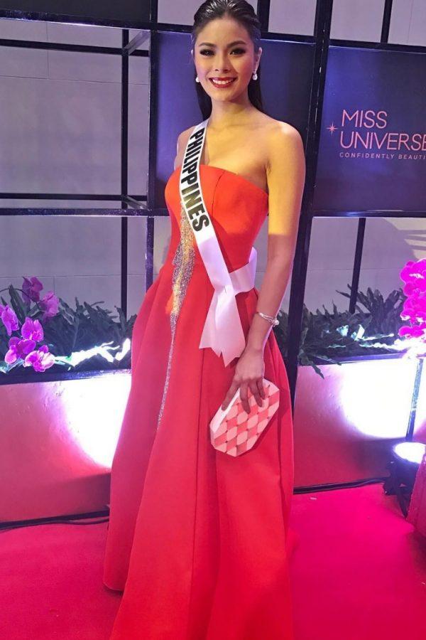 Miss Universo 2016. Imagen Por: Vía instagram.com/maxine_medina