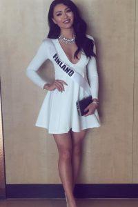 Miss Universo 2016. Imagen Por: Vía instagram.com/shirlykarvinen/