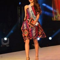 Miss Universo 2016. Imagen Por: Vía facebook.com/bodizsveronika/