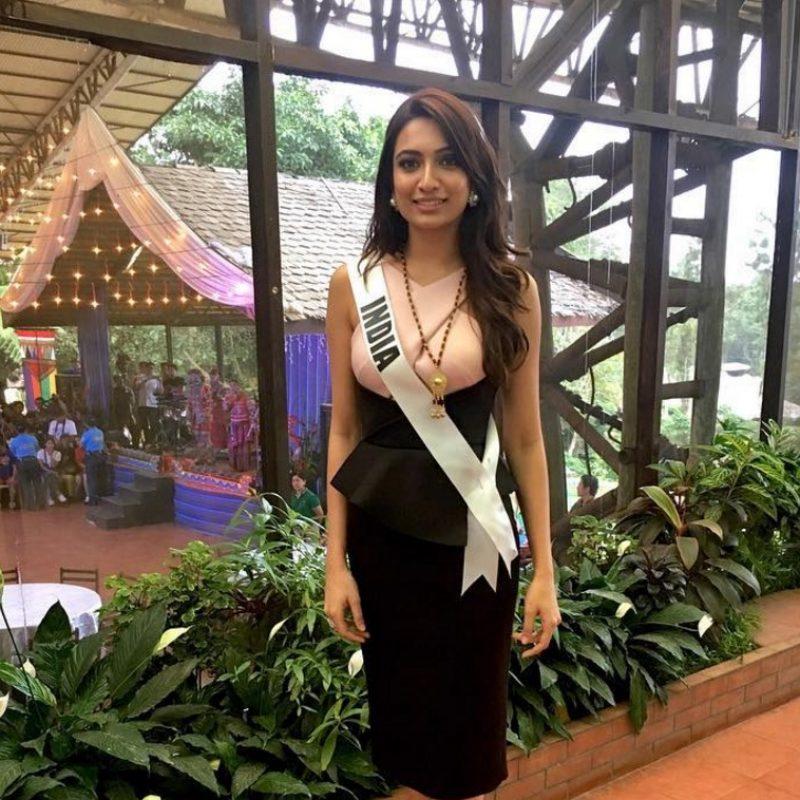 Miss Universo. Imagen Por: Vía instagram.com/roshmitaa/