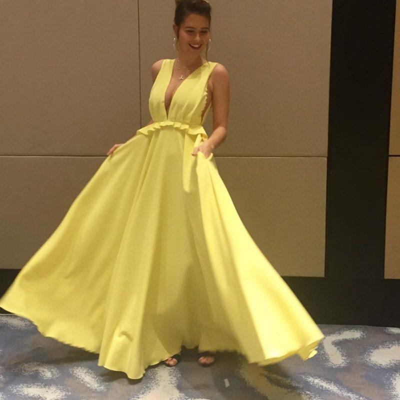 Miss Universo 2016. Imagen Por: Vía instagram.com/yamkaspers/