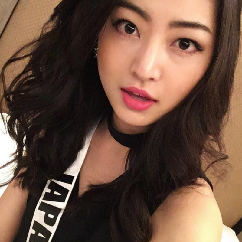 Miss Universo 2016. Imagen Por: Vía instagram.com/sari_nakazawa/