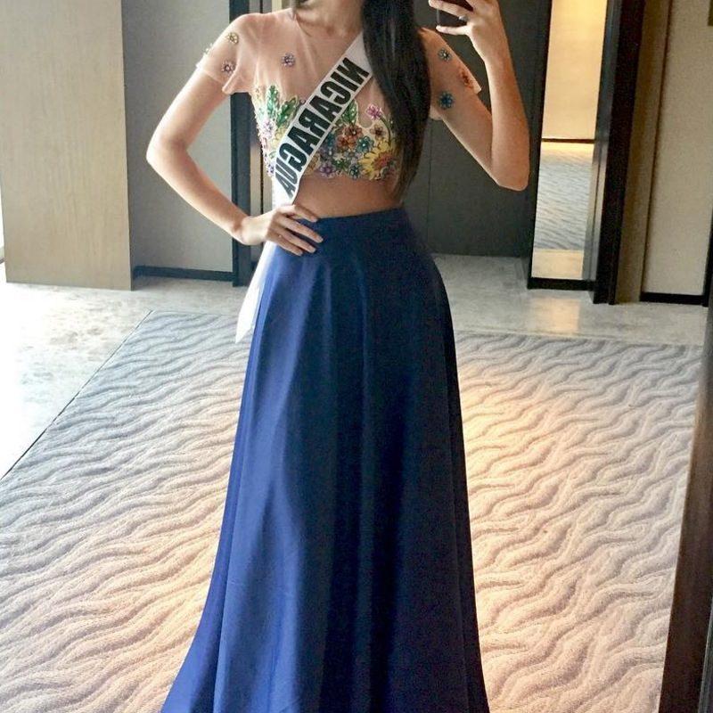Miss Universo 2016. Imagen Por: Vía instagram.com/marinajacoby/