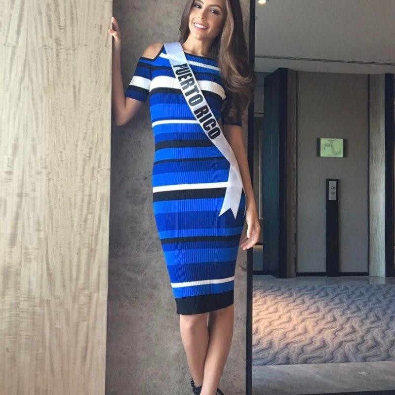 Miss Universo 2016. Imagen Por: Vía instagram.com/brendaazaria_mupr2016
