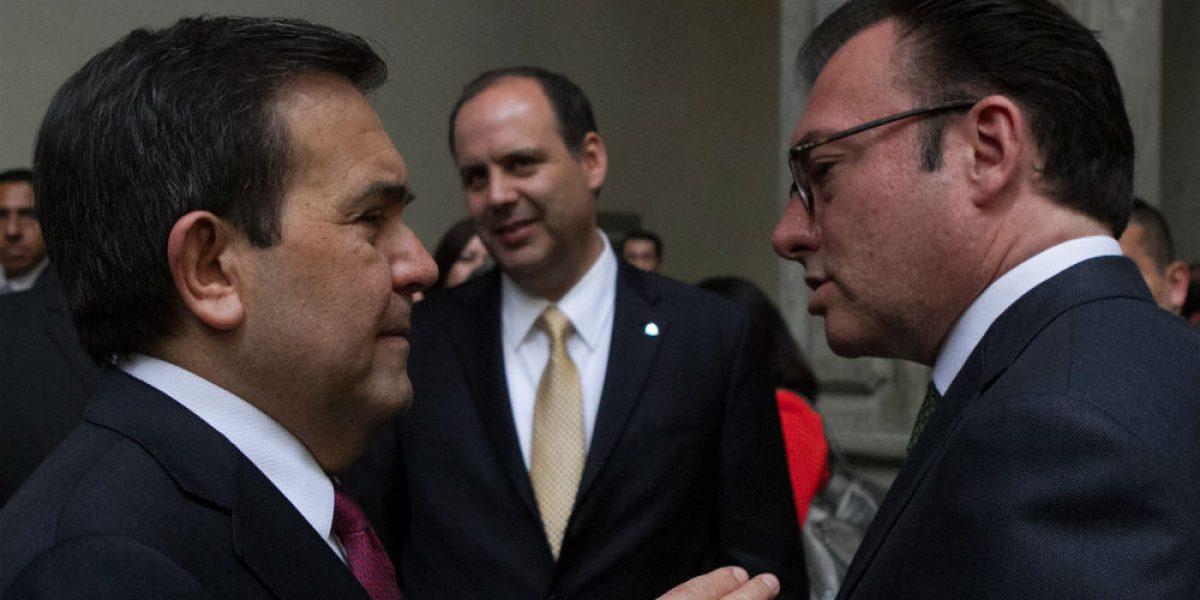 Guajardo y Videgaray prolongan reunión con equipo de Trump