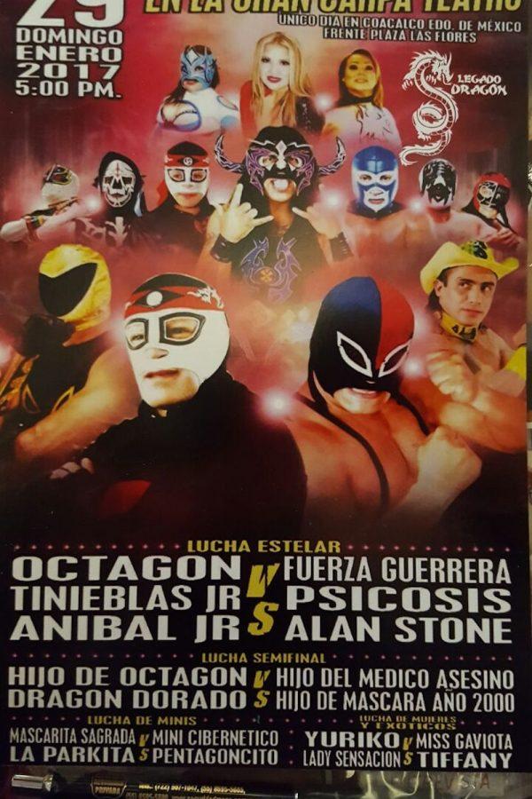 . Imagen Por: Octagón presenta promotora de lucha libre