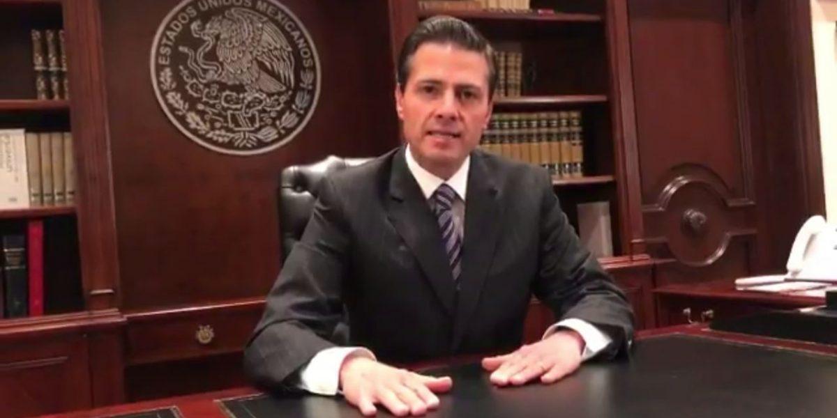 Pese a decreto de Trump, Peña Nieto reitera que México no pagará el muro
