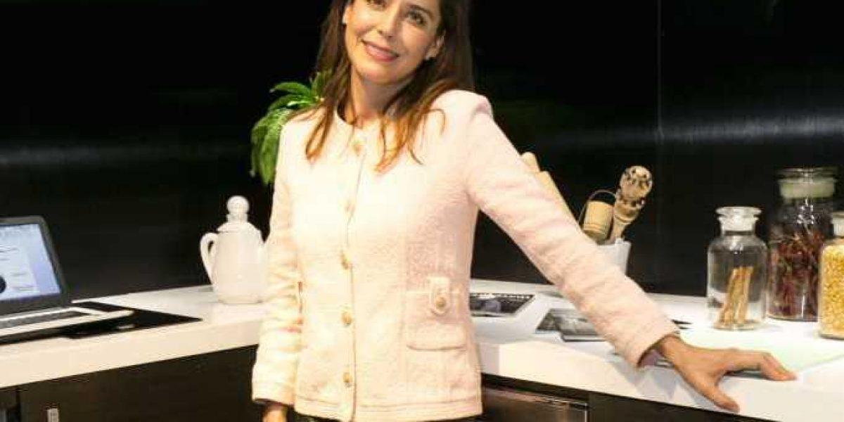 Ana Claudia Talancón lleva lejos su amor por la cocina