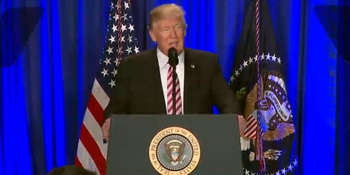 Trump responde a la cancelación de Peña Nieto