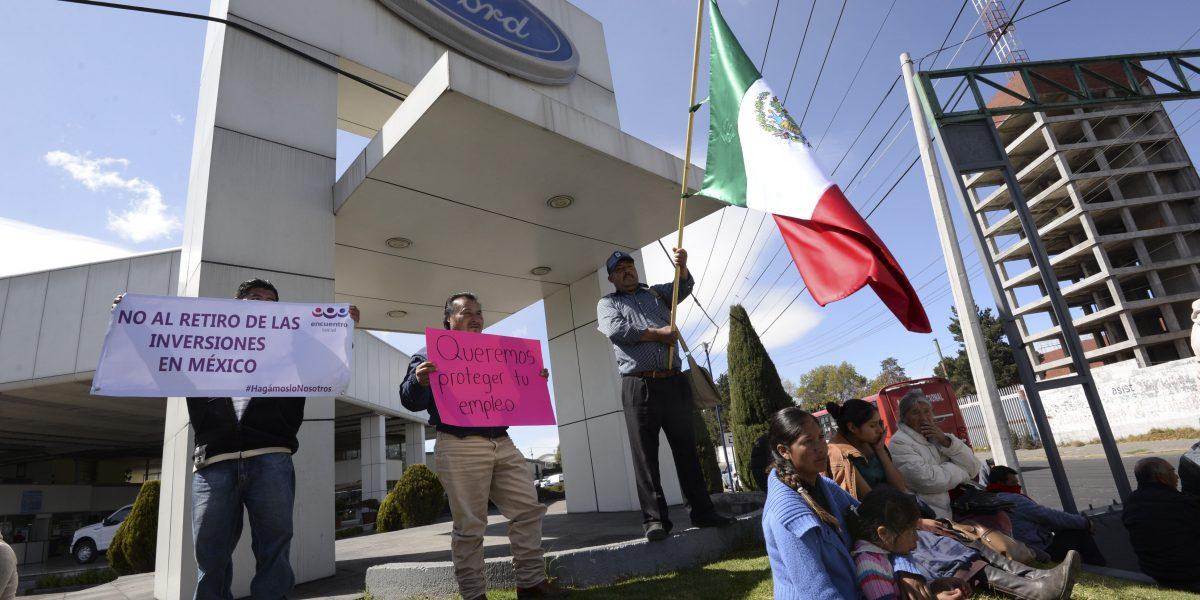 Ford reporta pérdidas tras cancelación de planta en México