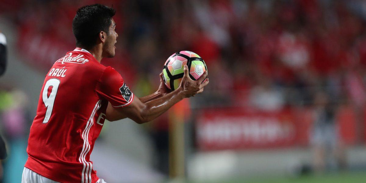 Raúl Jiménez y Benfica pierden ante Moreirense en la Copa de Portugal