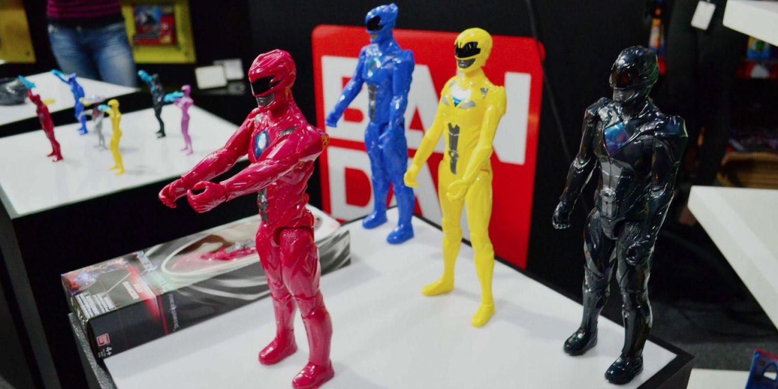 """Figuras de acción de Power Ranger 12"""". Imagen Por: Alexandra Ortiz"""