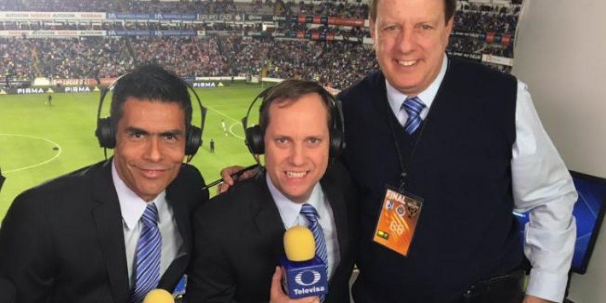Otro comentarista estelar saldrá de Televisa Deportes