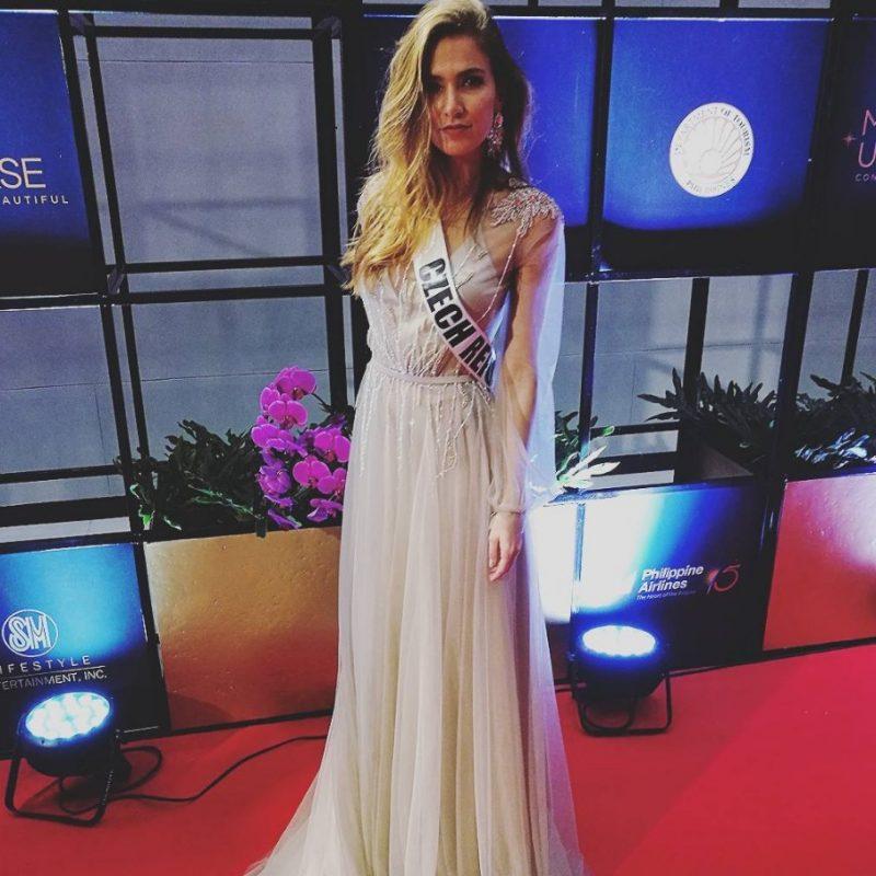 Miss Universo 2016. Imagen Por: Vía instagram.com/andreabezdekova
