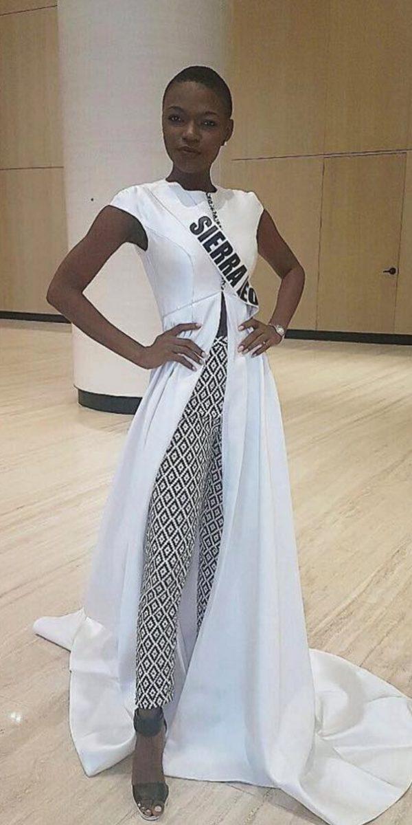 Miss Universo 2016. Imagen Por: Vía facebook.com/eve.hawiwi/
