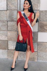 Miss Universo 2016. Imagen Por: Vía instagram.com/namtanlitaa