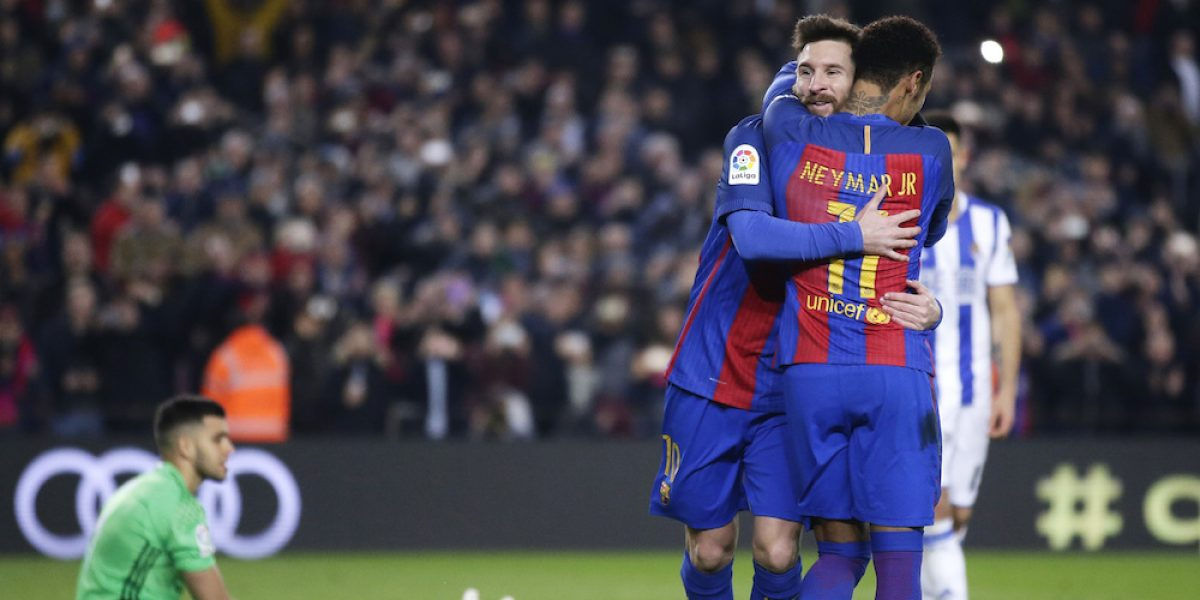 Barcelona avanza a semis de la Copa del Rey