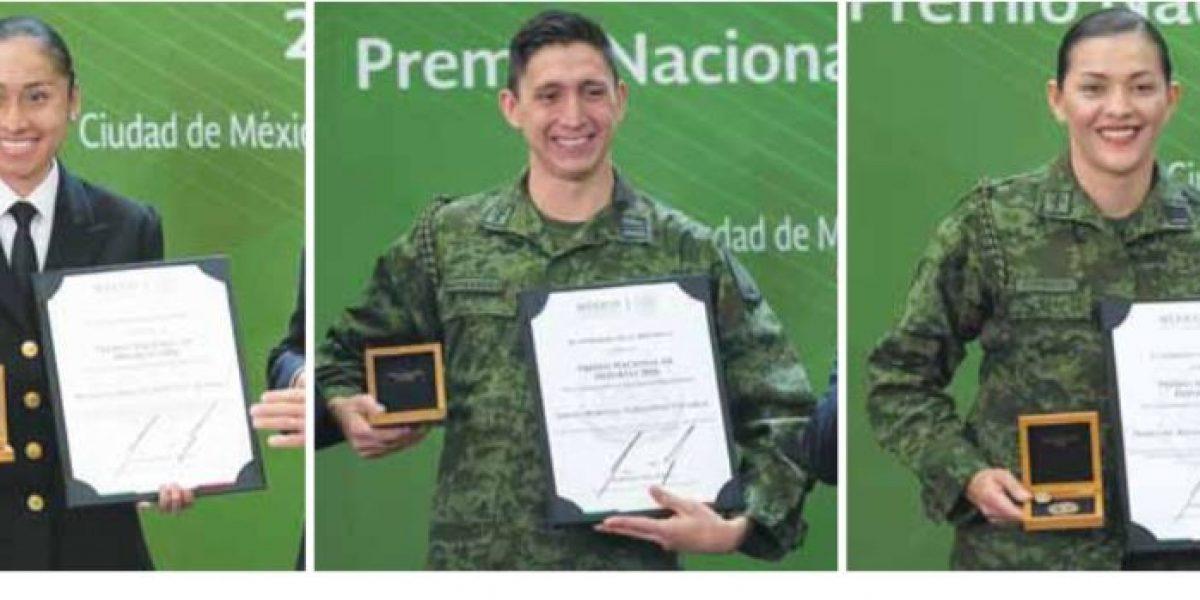 Medallistas mexicanos en Río, orgullosos ganadores del PND 2016
