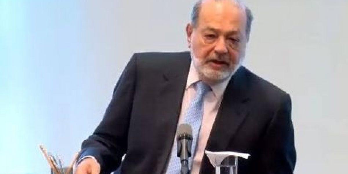 Puedo hacer más como empresario que como presidente: Carlos Slim