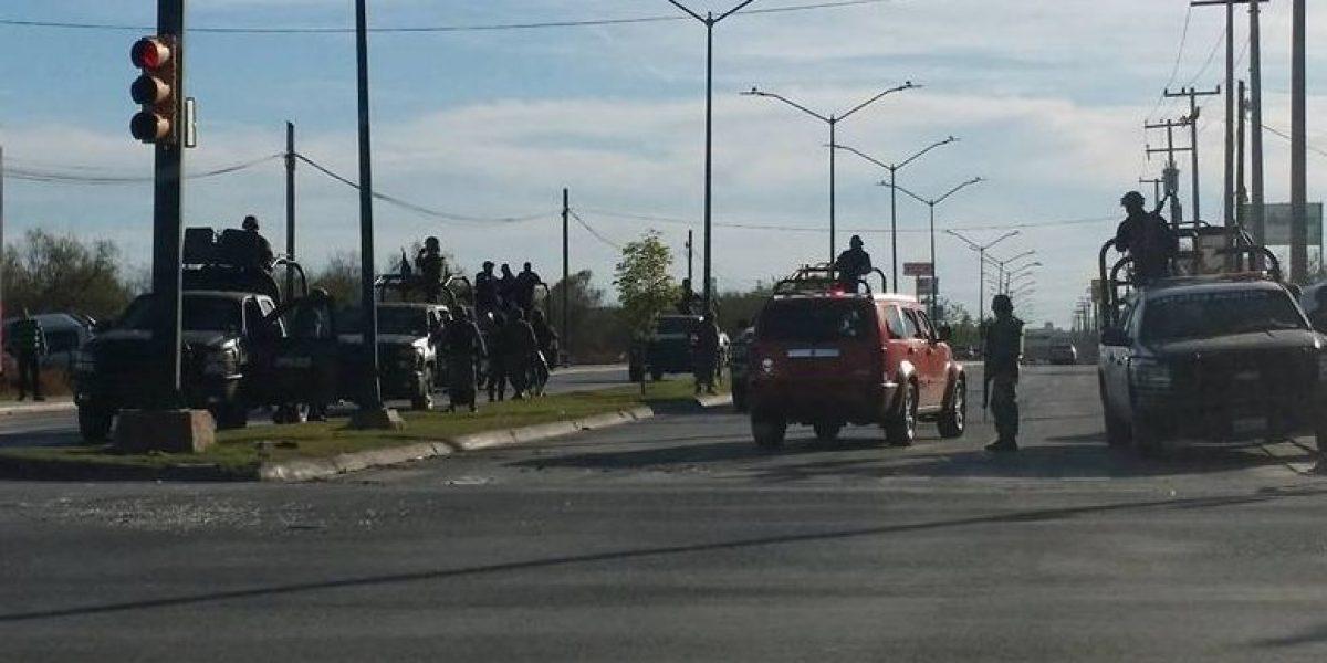 VIDEO: Se enfrentan militares y presuntos sicarios en Tamaulipas