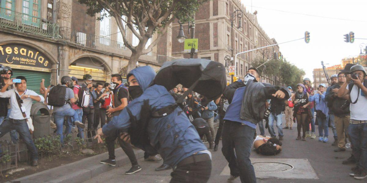 Expertos prevén incremento de marchas en número y violencia