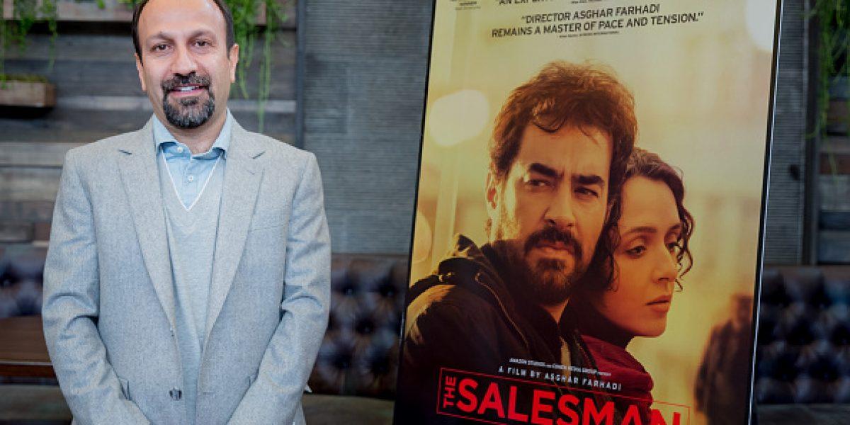 Director iraní nominado al Oscar no podrá asistir tras iniciativa de Trump