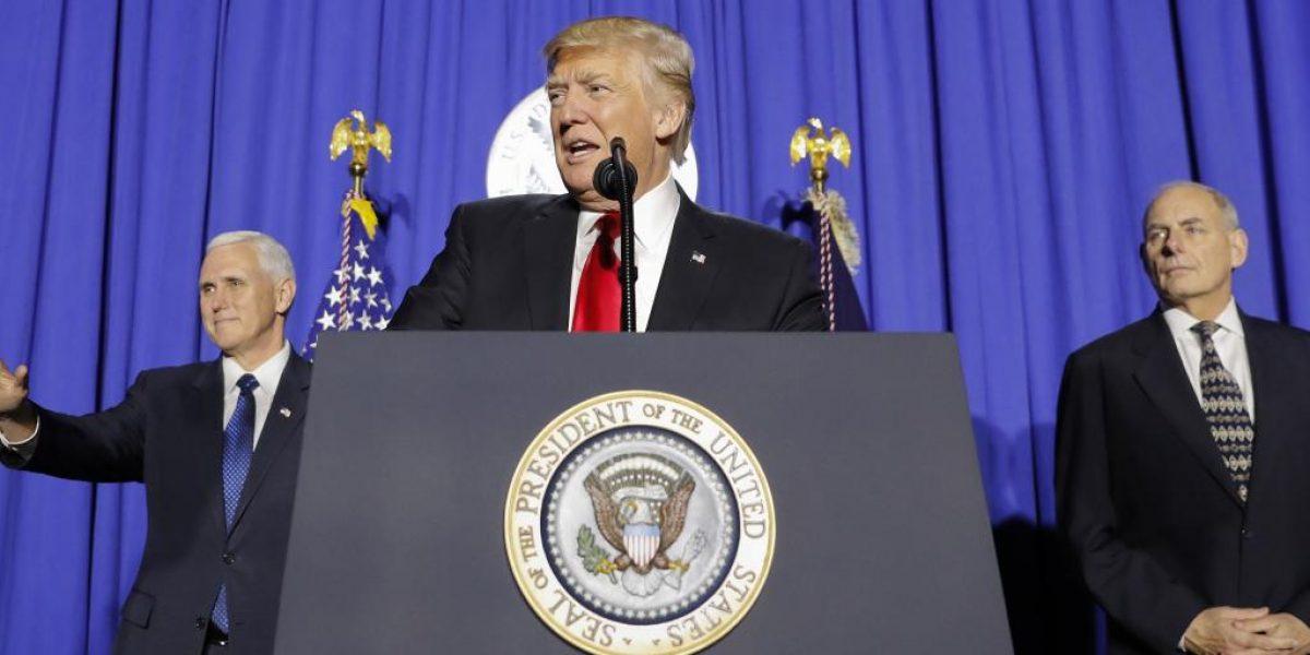 Trump cancela visas a Irán, Siria e Irak