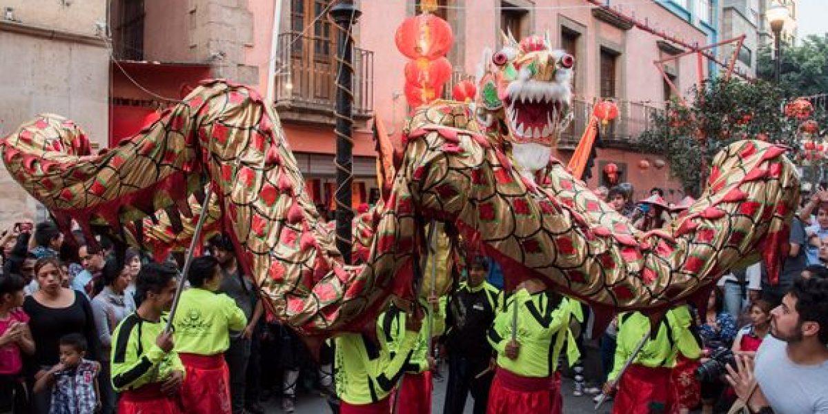 En imágenes: celebran el Año Nuevo Chino en la CDMX