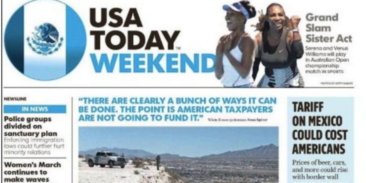 USA Today se solidariza con México