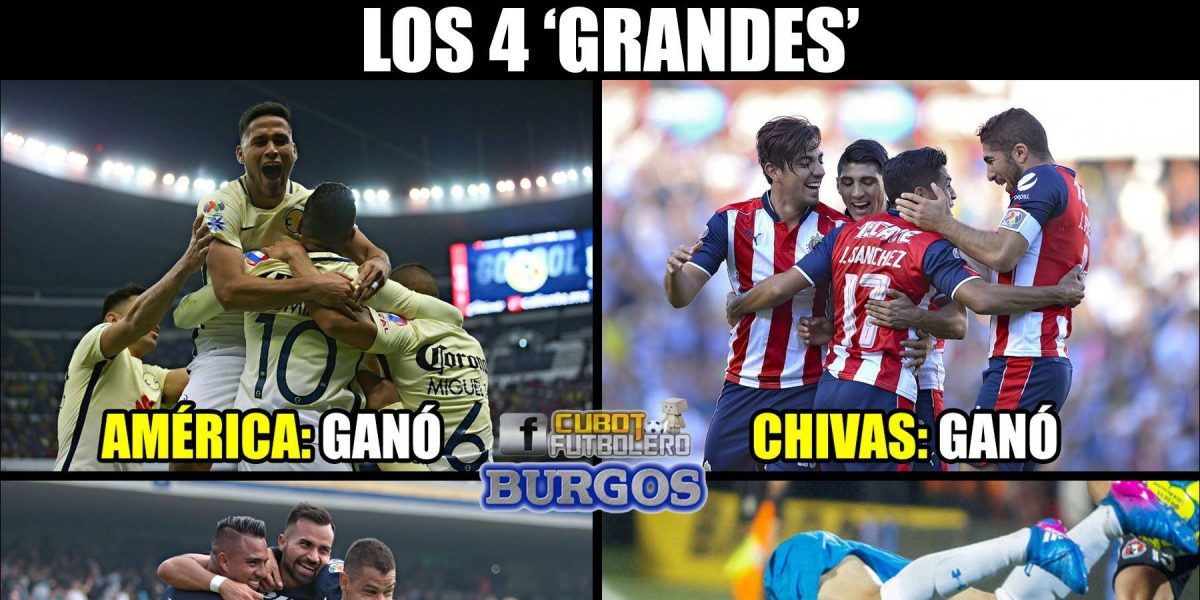 Los mejores memes de la jornada 4 del Clausura 2017