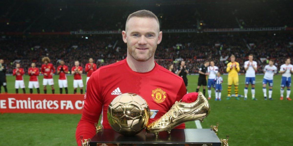 Manchester United homenajea a Rooney y avanza a octavos de la FA Cup