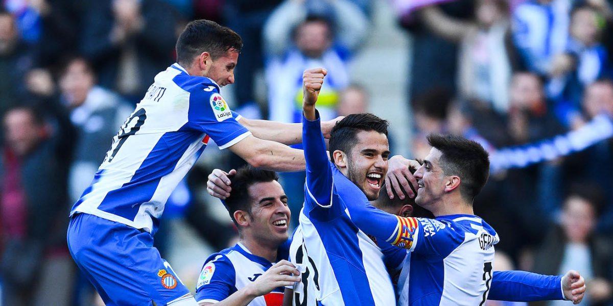 Diego Reyes y el Espanyol vencen al Sevilla en La Liga